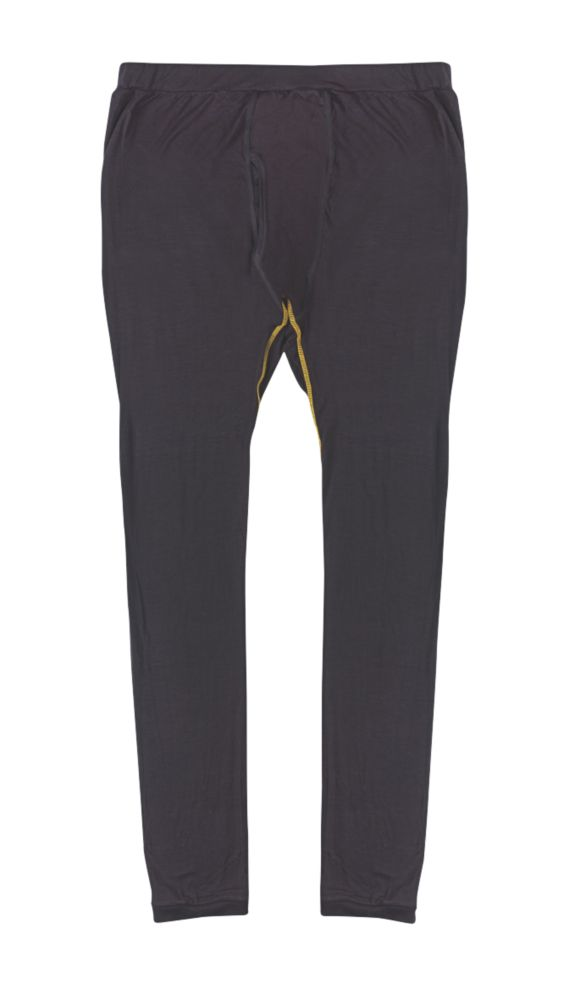 """Image of Site Base Layer Trousers Black Large 36"""" W 32"""" L"""