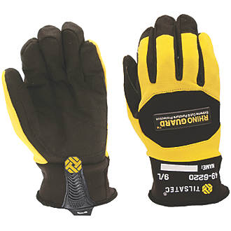 Image of Tilsatec TTP450 Needlestick Cut 5 Gloves Black / Yellow Large