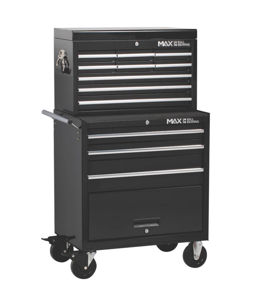 Image of Hilka Pro-Craft 12-Drawer Tool Storage Unit