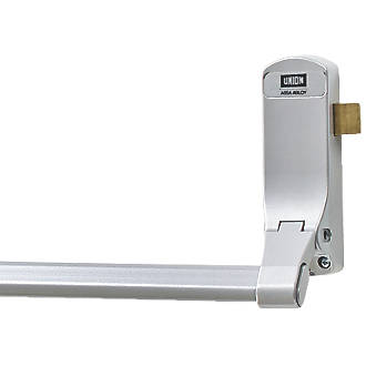 Image of Union J-CE853PL-SIL Single Panic Latch for Timber Doors