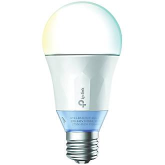 Image of TP-Link LB120 LED GLS ES Smart Bulb Variable White 11W 800Lm