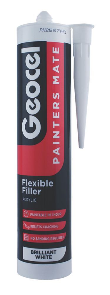 Image of Geocel Painters Mate Flexible Acrylic Filler White 310ml