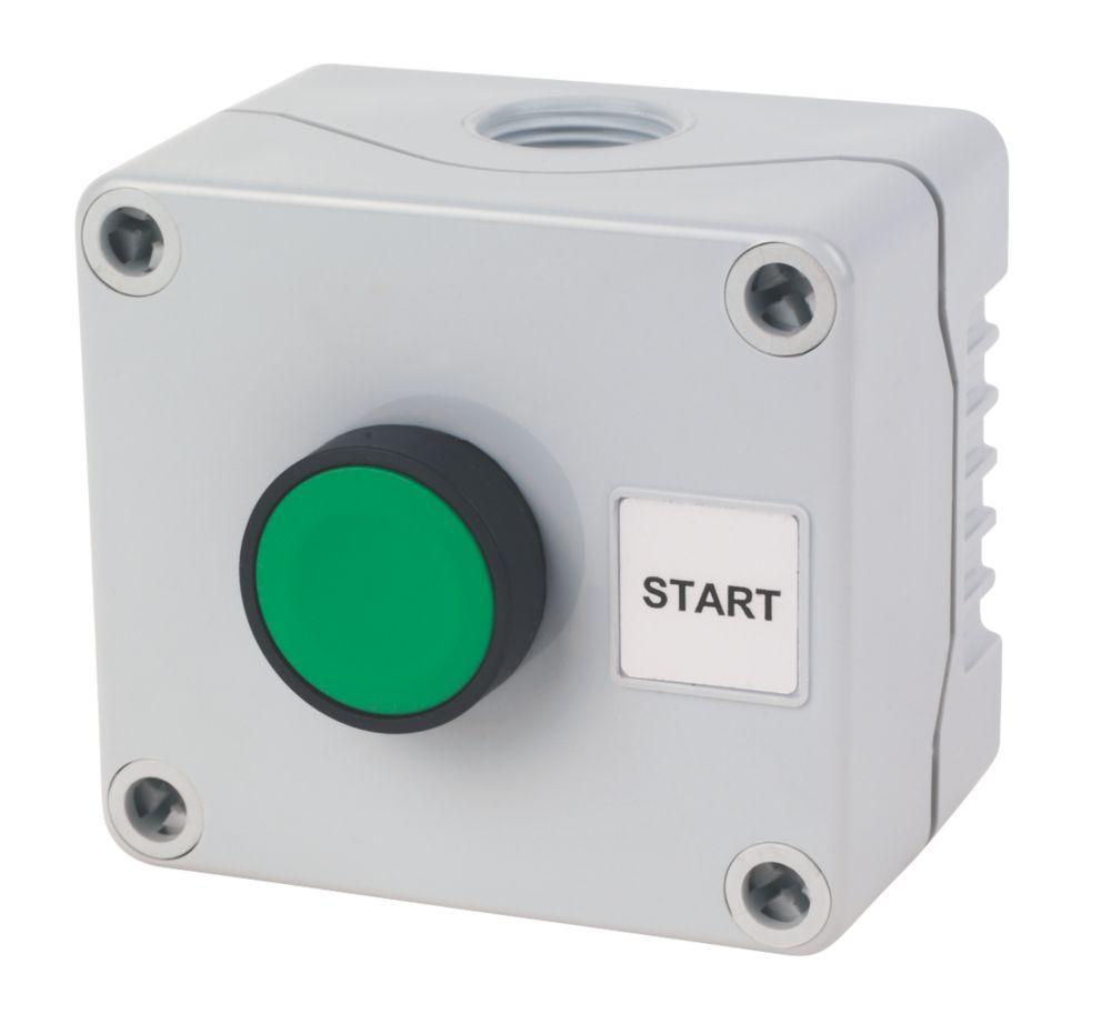 Image of Hylec 1-Way Start Push Button