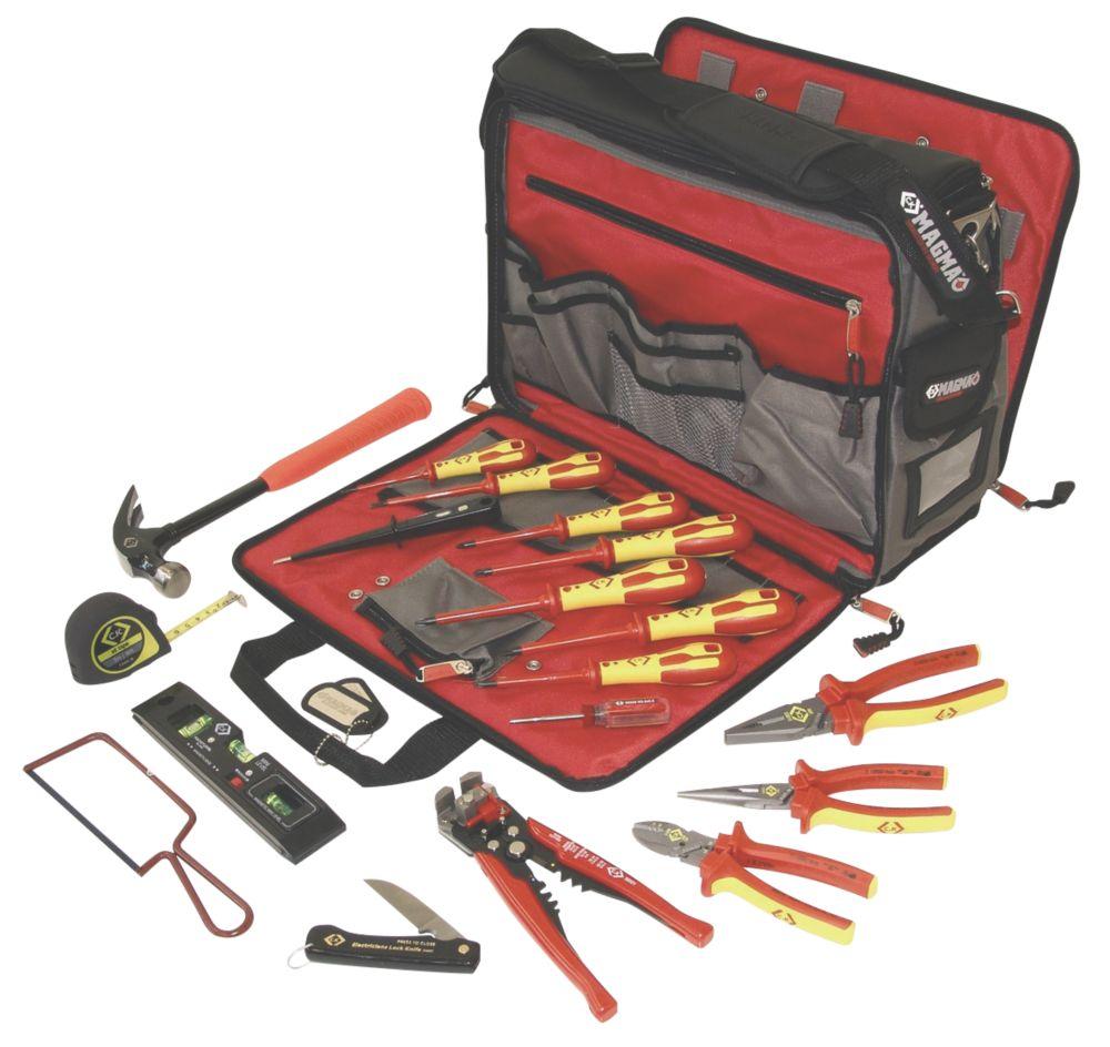 Image of CK Electricians Premium Tool Kit & Bag