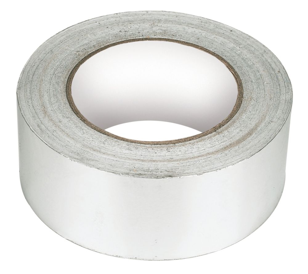 Image of Aluminium Foil Tape Silver / Aluminium 50mm x 45m