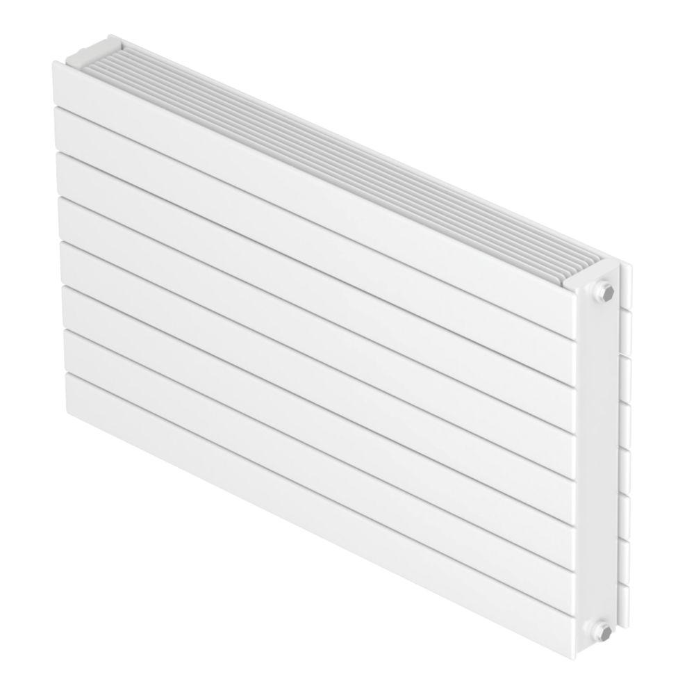 Image of Barlo Decorative Horizontal Double-Panel Designer Radiator White 578 x 1000mm