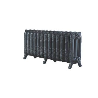 Image of Arroll 3-Column Cast Iron Radiator 470 x 1074mm Pewter