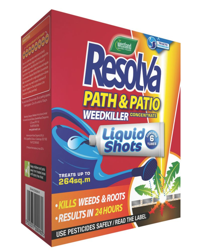 Image of Resolva Path & Patio Liquid Shots 264m² 30ml