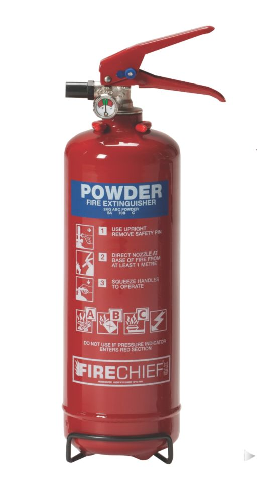 Image of Firechief Dry Powder Fire Extinguisher 2kg