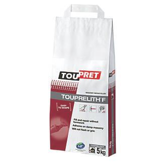 Image of Toupret Touprelith F Exterior Masonry Repair Filler 5kg