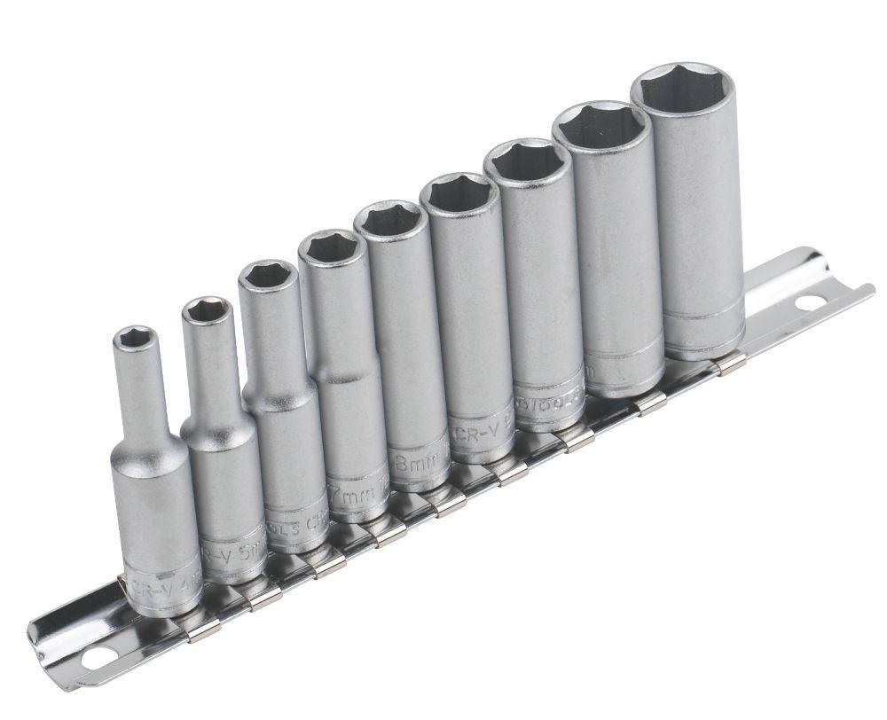 "Image of Teng Tools "" Deep Socket Rail 4-13mm Set 9Pcs"