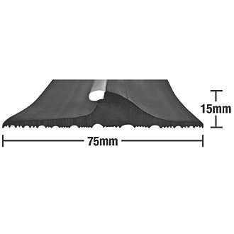 Image of Stormguard Garage Threshold Seal Black 2.5m