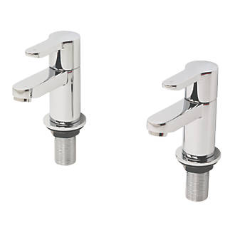 Image of Swirl Elevate Bath Taps Pair