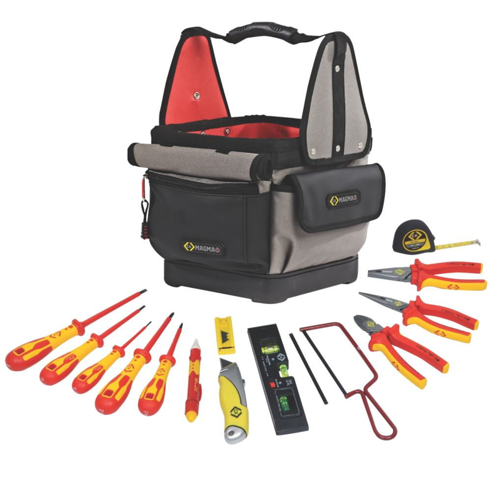 Image of C.K. Electricians Tool Kit 13 Piece Set