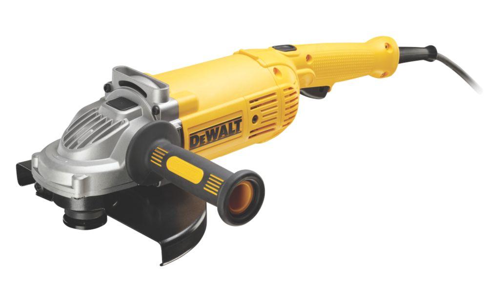"""Image of DeWalt DWE490-GB 2000W 9"""" Angle Grinder 240V"""