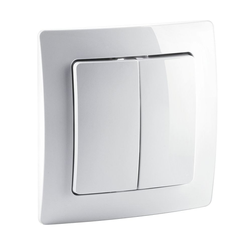 Image of Devolo Home Control Wireless Wall Switch White