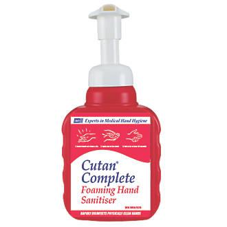 Image of Cutan Complete Foam Sanitiser Pump 400ml
