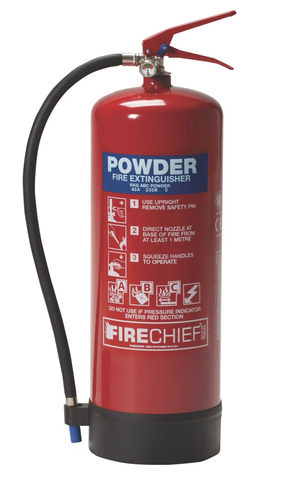 Image of Firechief Dry Powder Fire Extinguisher 9kg