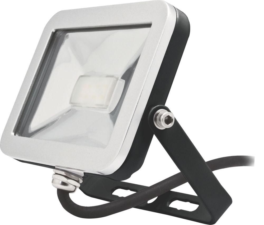 Image of Brackenheath ispot Driverless LED Floodlight 10W Black