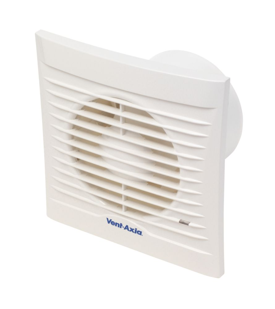 Image of Vent-Axia 100A 14W Bathroom Extractor Fan White 240V