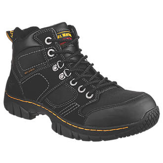 Image of Dr Martens Benham Safety Boots Black Size 8