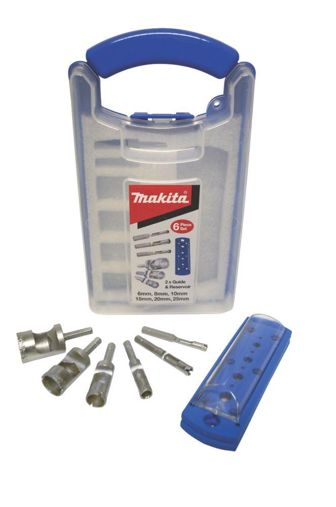 Image of Makita Diamond Holesaw Kit 8 Pieces