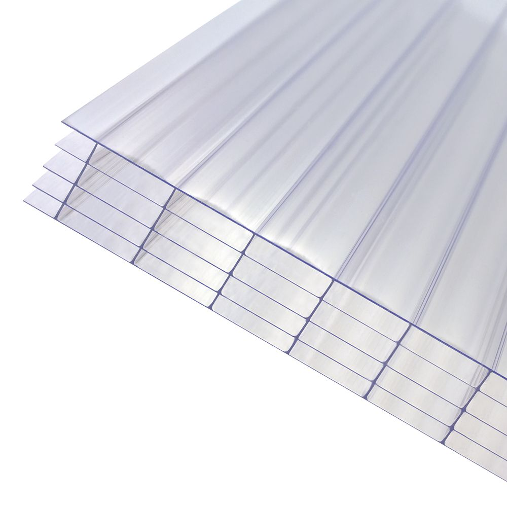 Image of Axiome Fivewall Polycarbonate Sheet Clear 1000 x 25 x 2500mm