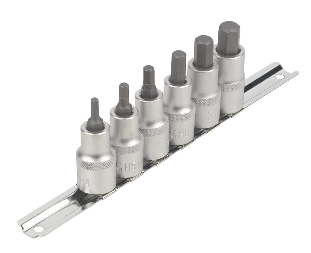 "Image of Forge Steel Hex Socket Set "" 6 Pieces"