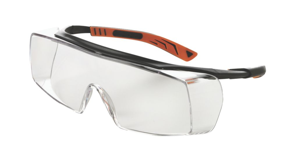 Image of Univet 5X7 Ultimate Clear Lens Safety Overspecs