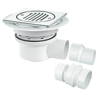 Image of McAlpine TSG52T6SS Trapped Shower Gully 50mm Water Seal