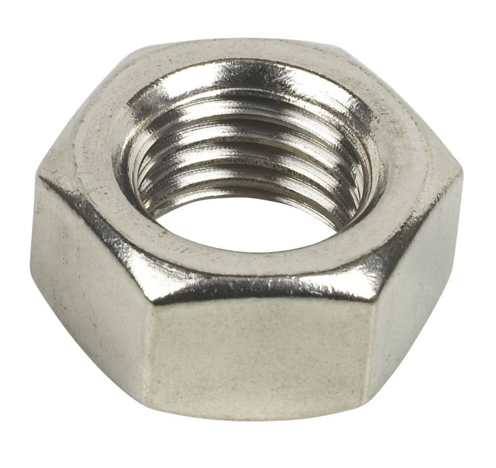 Image of A2 SS Hex Nuts M20 PK10
