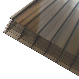 Image of Axiome Fivewall Polycarbonate Sheet Bronze 690 x 25 x 2500mm