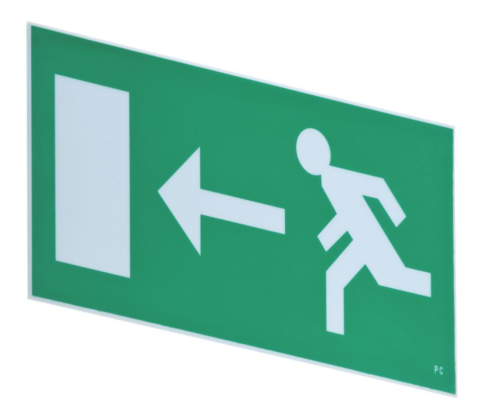 Image of LAP Emergency Exit Left Front Plate