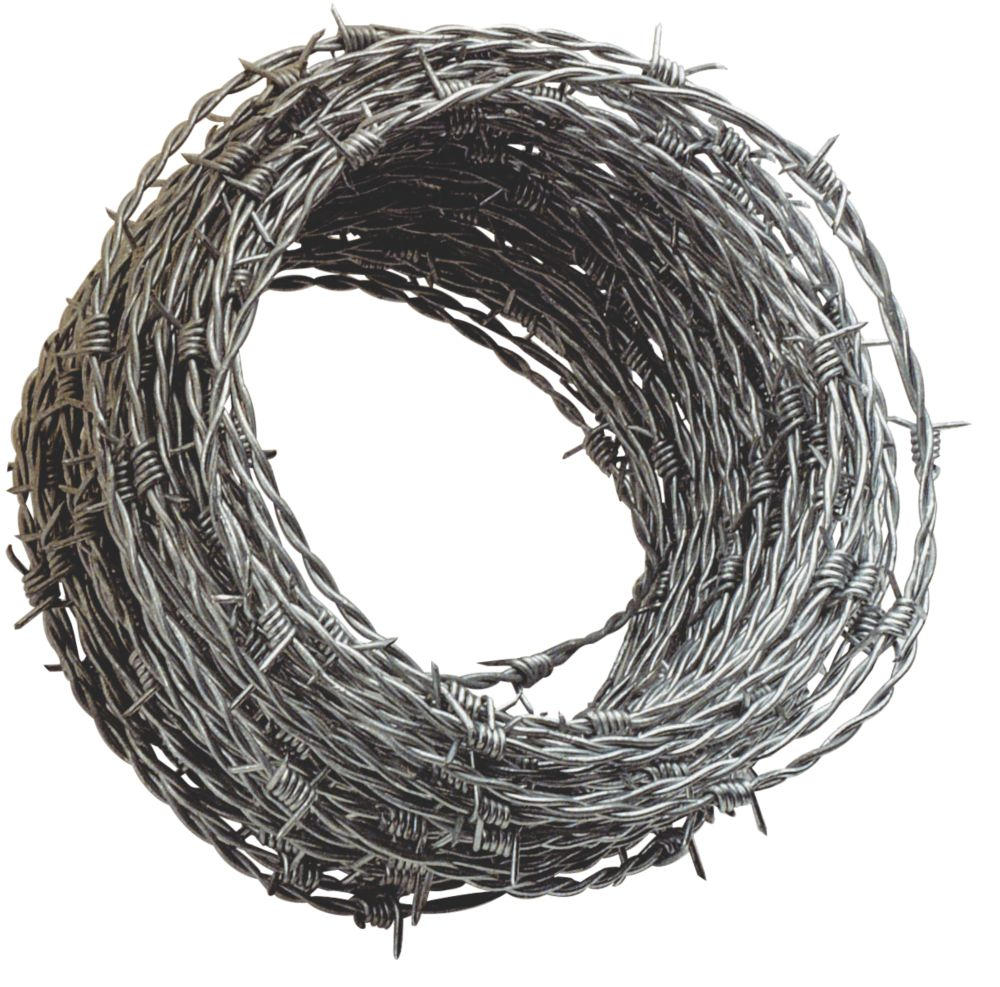 Image of Apollo 1.7mm Steel Barbed Wire x 50m