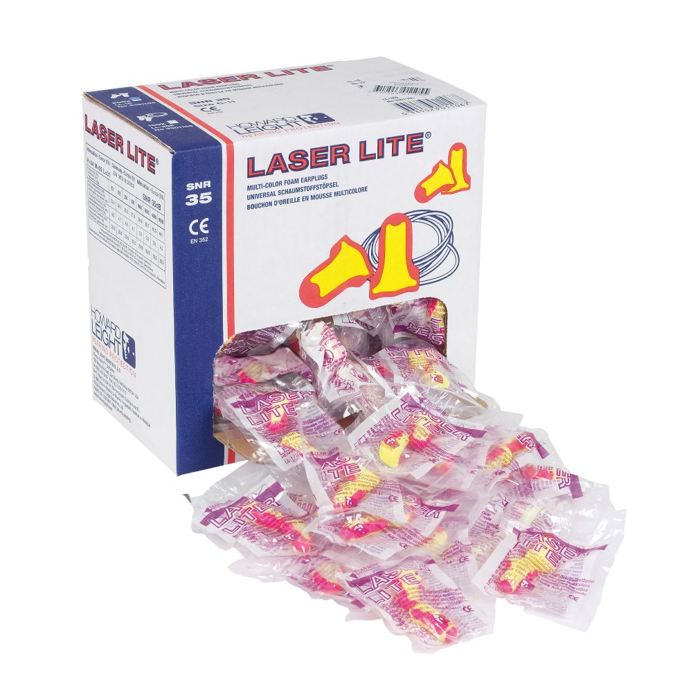 Image of Howard Leight Laser Lite 35dB Ear Plugs 200 Pairs