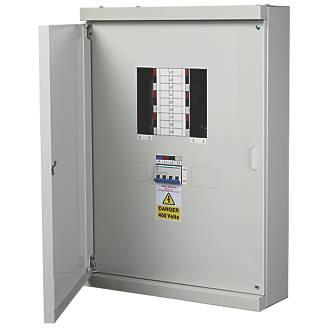 Image of Chint Nxdb 6-Way 125A TP & N Meter Ready 3-Phase Distribution Board