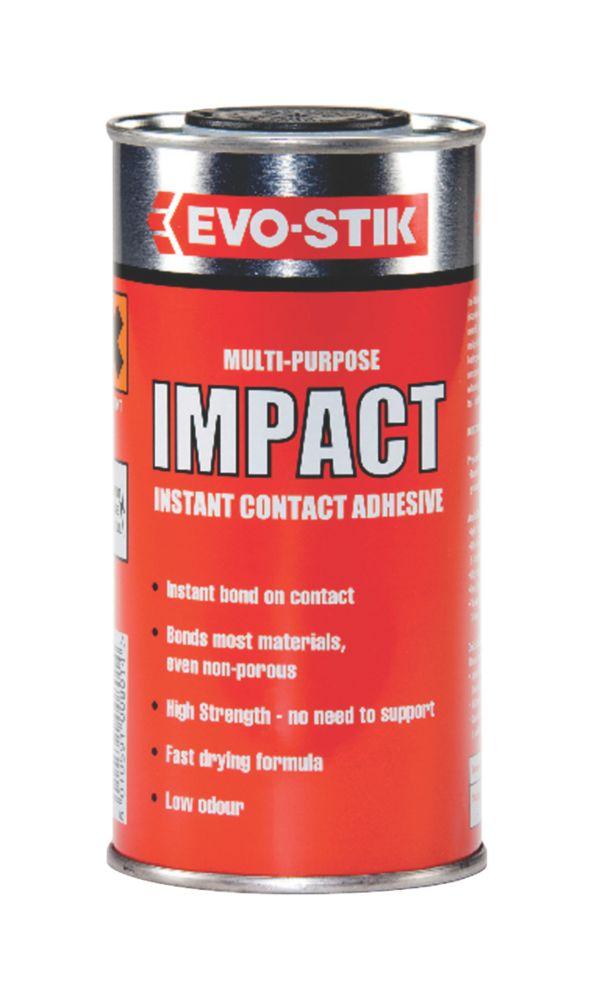 Image of Evo-Stik Impact Adhesive Off-White To Amber 250ml