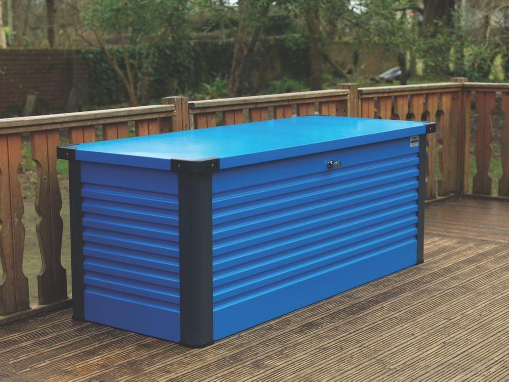 "Image of Trimetals Patio Box 6' 0 x 2' 6 x 2' 6"" Blue"
