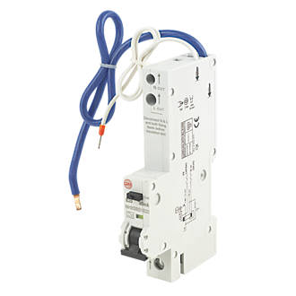 Image of Wylex 20A 30mA SP Type B RCBO