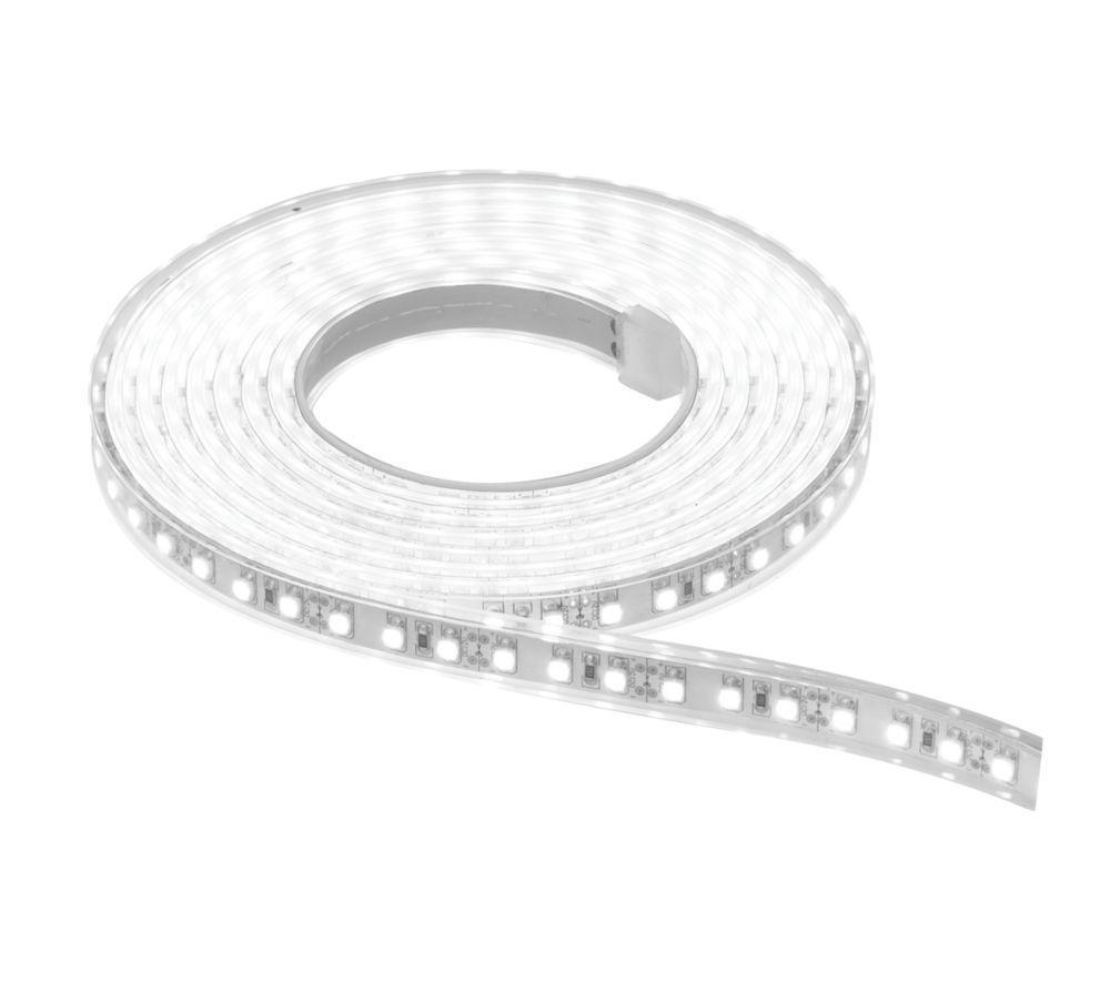 Bathroom Lights Screwfix sensio white 1000mm lumo flexible striplight led 5w | led bathroom
