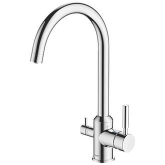 Image of BWT 3-Way Deck-Mounted Filter Tap Chrome