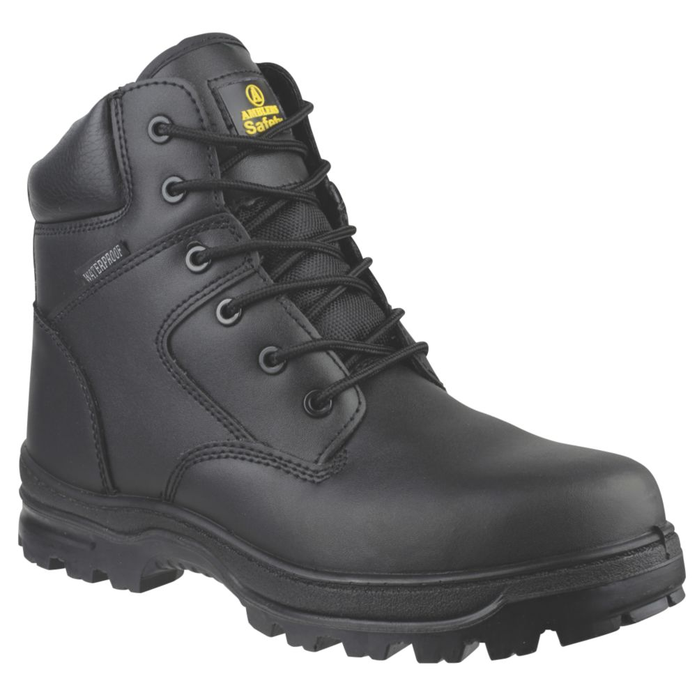 Image of Amblers FS006C Metal Free Safety Boots Black Size 12