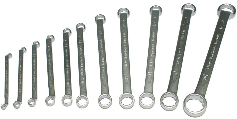 Image of Teng Tools 6311 Ring Long Double Spanner 11 Piece Set