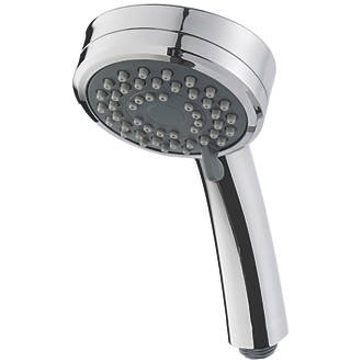 Image of Triton 3-Position Shower Head Chrome 84 x 230mm
