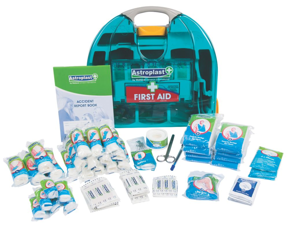 Image of Wallace Cameron 1002110 Adulto 50 Person HSE First Aid Kit