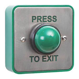 Image of Briton Domed Push-To-Exit Button