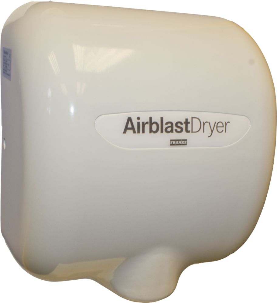 Image of Franke Airblast Automatic Hand Dryer White 550-1400W