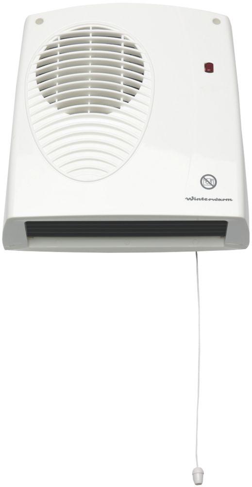 Image of Winterwarm WWDF20E Wall-Mounted Fan Heater 2000W