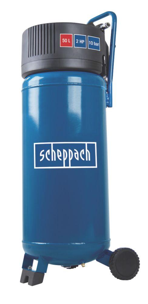 Image of Scheppach HC50V 50Ltr Oil-Free Compressor 230V