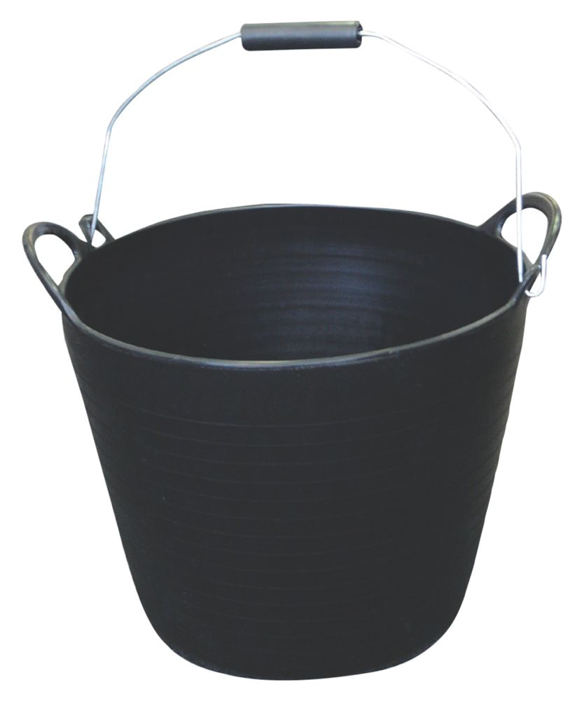 Image of Active Ultimate Builders Tub 26Ltr Black 3 Pack
